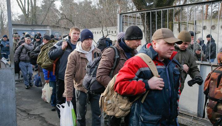 Украинцы бегут в Польшу