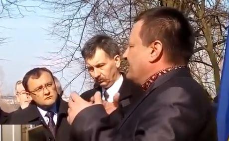 Укранцы прославляют Бандеру в Польше