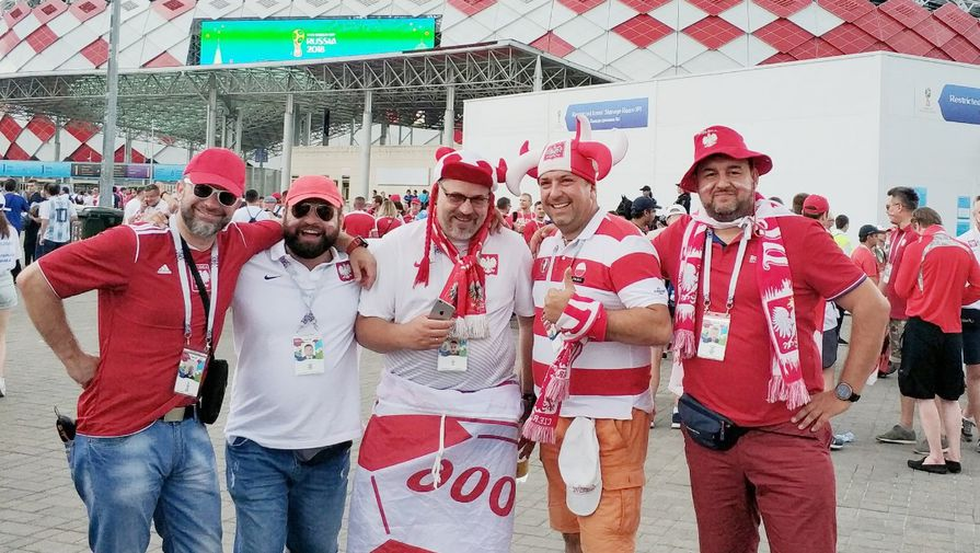 Польские футбольные болельщики