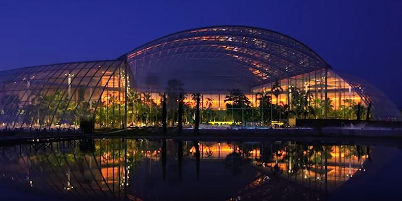 Самый большой аквапарк в Европе