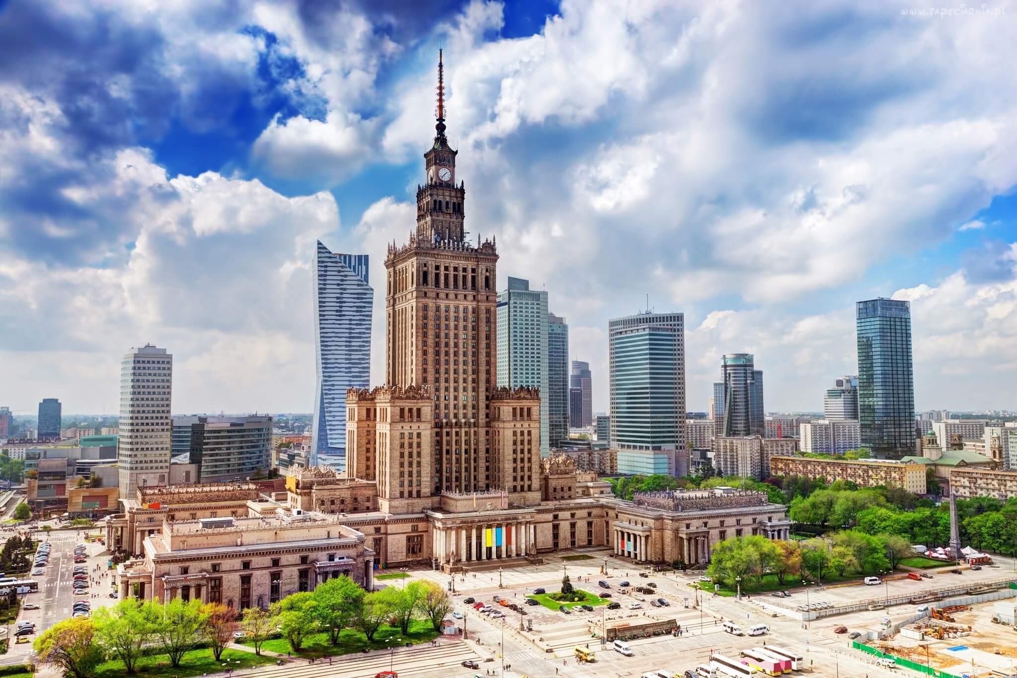 Дворец культуры и науки в Варшаве PKiN