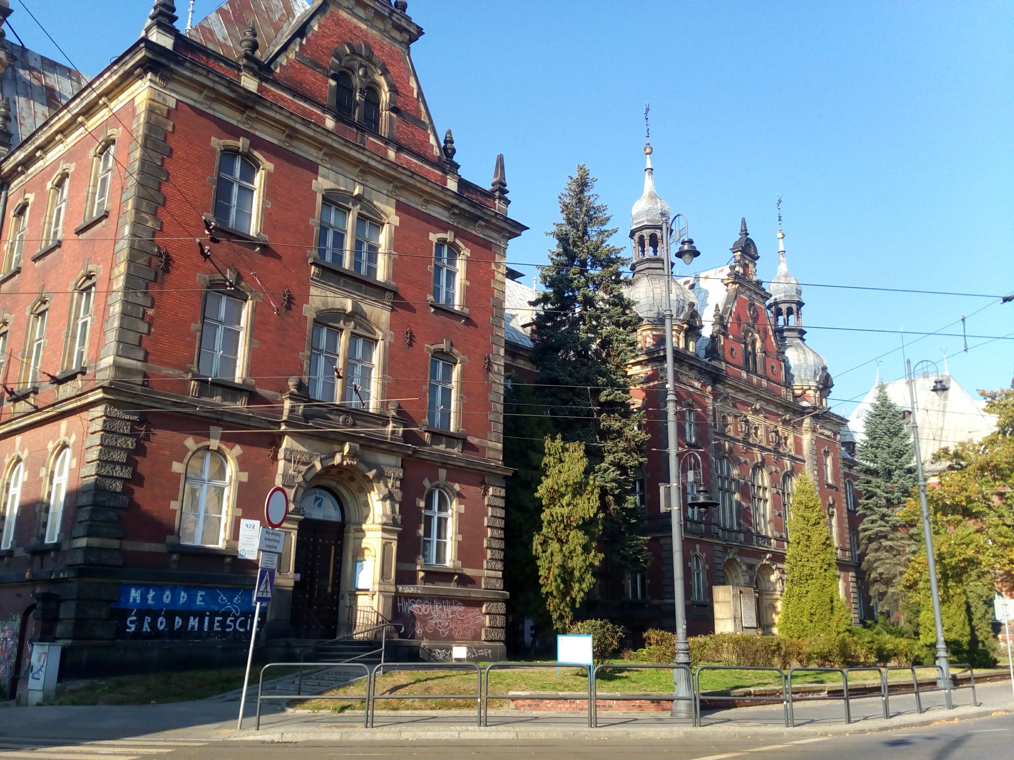 Больница в Быдгощи