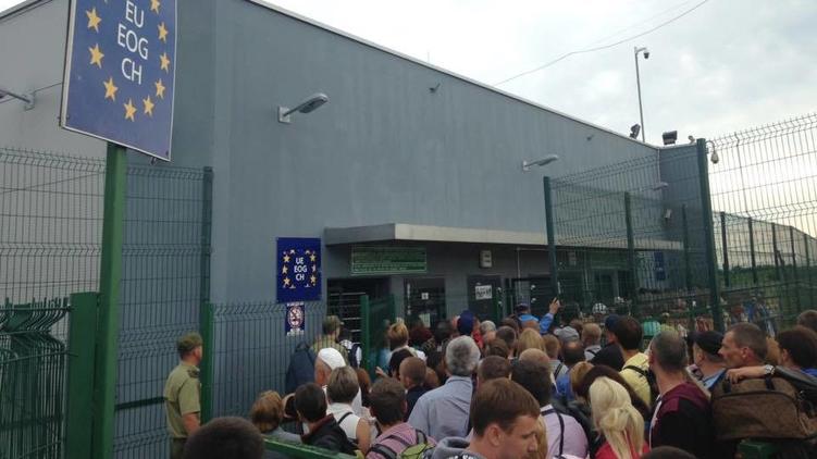 На украинско-польской границе откроется новый пешеходный КПП