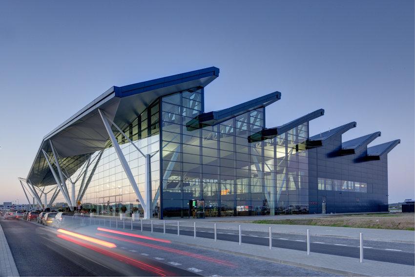 Аэропорт города Гданьска, Польша