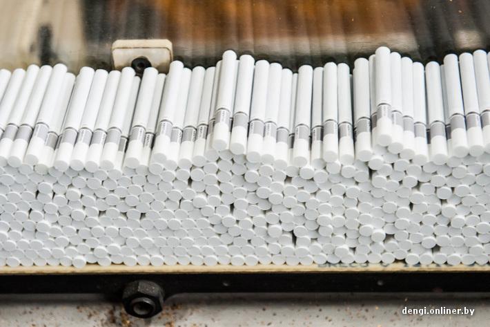 Табачная фабрика в Польше