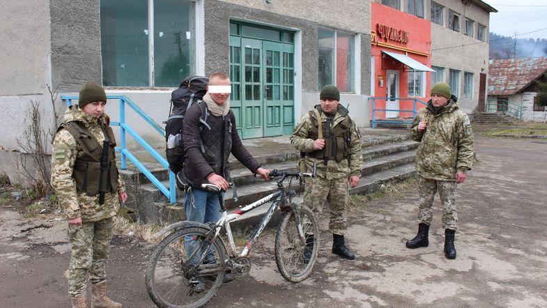 Немец пытался пересечь границу Украины