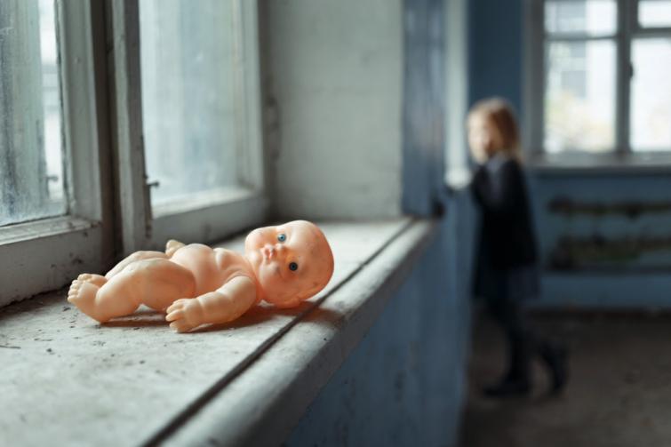 Украинка пыталась убить ребенка