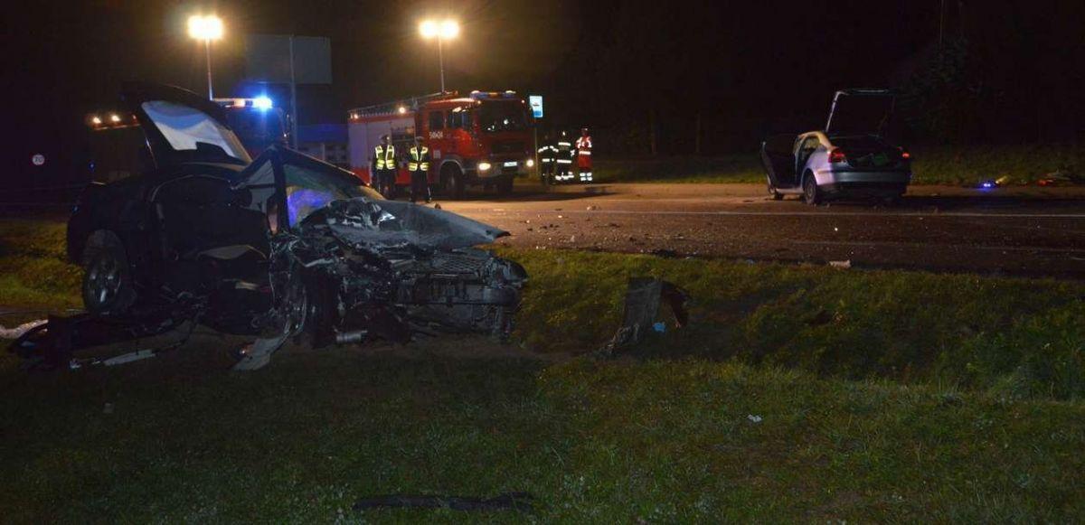 Страшная авария в Польше с участием двух авто с украинцами
