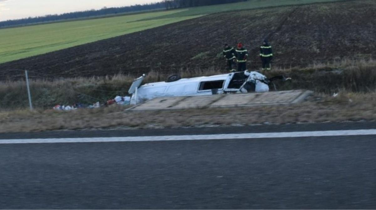 Авария в Словении