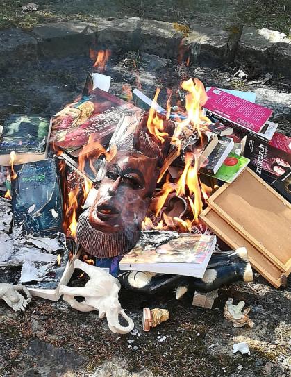 Сожжение книг в Польше