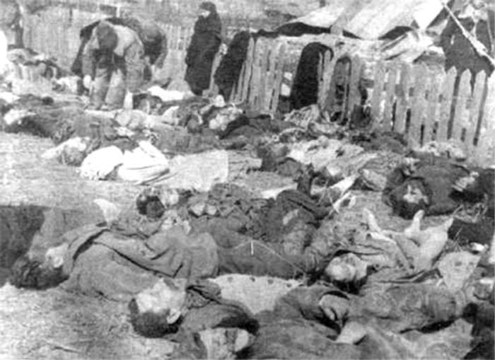 Поляки — жертвы акции ОУН(б) 26 марта 1943 года в ныне несуществующем селе Липники