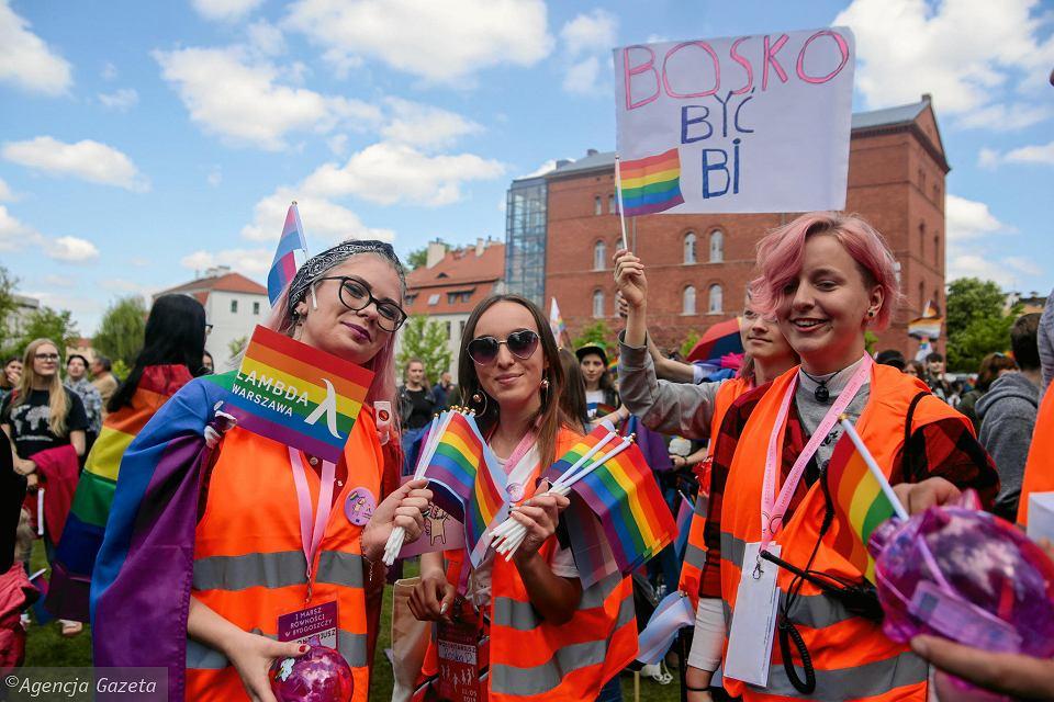 В Быдгощи прошел первый марш равенства