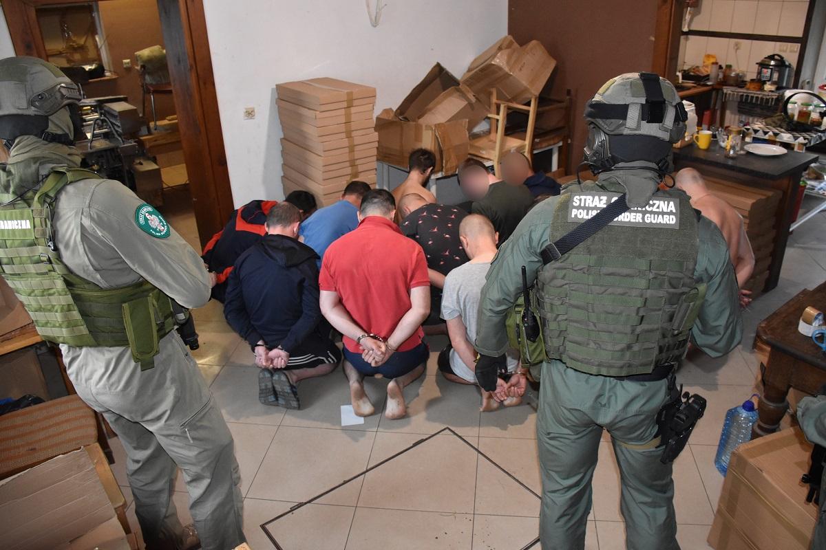 В Польше задержана преступная группировка, состоящая из украинцев