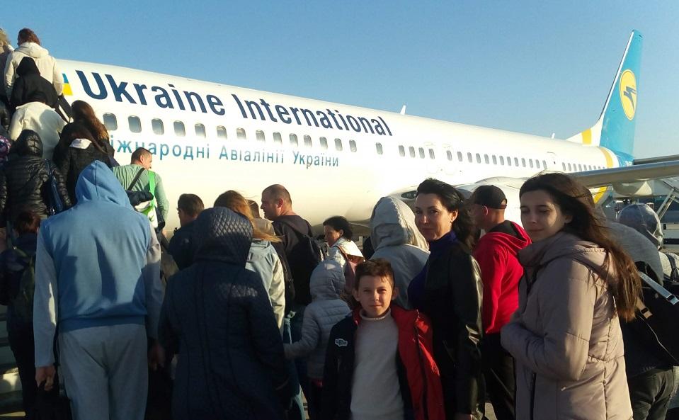 Возвращение украинцев