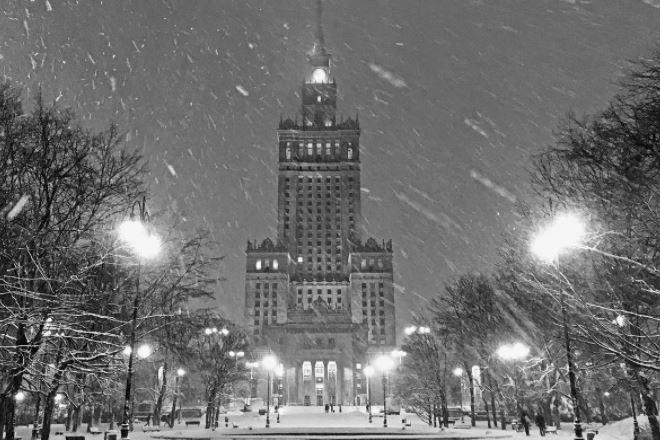 Морозы в Польше